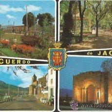Postales: == A613 - POSTAL - RECUERDO DE JACA - SIN CIRCULAR. Lote 37686977