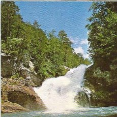 Postales: == P117 - POSTAL - PIRINEO ARAGONES - PARQUE NACIONAL DE ORDESA - CASCADA EN EL RIO ARAZAS. Lote 37687033