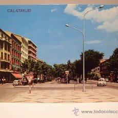 Cartoline: CALATAYUD PASEO DE CALVO SOTELO. Lote 37777272