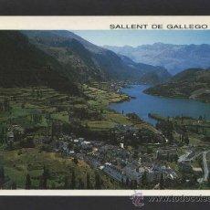 Postales: SALLENT DE GÁLLEGO *VISTA GENERAL...* ED. SICILIA Nº 1. CIRCULADA.. Lote 37849025