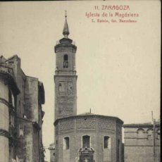 Postkarten - ZARAGOZA.- IGLESIA DE LA MAGDALENA - 38084173