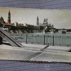 Postales: POSTAL. ZARAGOZA. BASÍLICA DE NTRA. SRA. DEL PILAR. ED. LUJO.. Lote 38299293