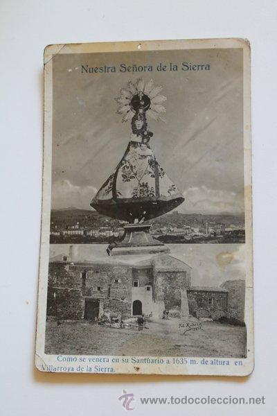 Postal Nuestra Senora De La Sierra Villarroya Sold Through
