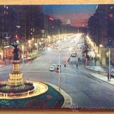 Postales: ANTIGUA POSTAL ZARAGOZA - PASEO INDEPENDENCIA. Lote 38576055