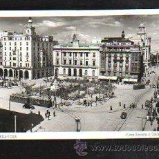 Postais: TARJETA POSTAL DE ZARAGOZA - PLAZA ESPAÑA Y CALLE COSO. 93.. Lote 38933715