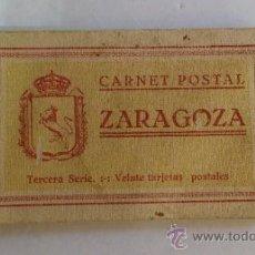 Postales: CARNET POSTAL ZARAGOZA # TERCERA SERIE - VEINTE TARJETAS POSTALES. Lote 38992281
