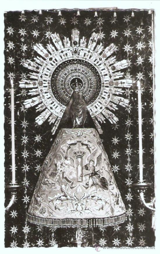 POSTAL RELIGIOSA , VIRGEN DEL PILAR (Postales - España - Aragón Antigua (hasta 1939))