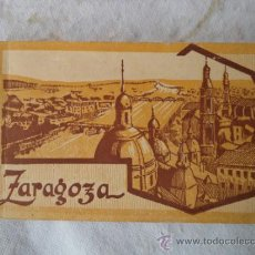 Postales: ALBUN 20 POSTALES ANTIGUAS DE ZARAGOZA. Lote 39230979