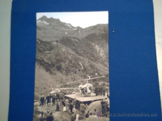 BALNEARIO DE PANTICOSA - HUESCA - 24 HELIDROMO SERVICIO CAUTERET PANTICOSA - HELICÓPTERO - (Postales - España - Aragón Moderna (desde 1.940))