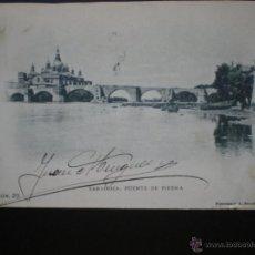 Postales: ARAGÓN ZARAGOZA PUENTE DE PIEDRA Y PILAR POSTAL DE ESCOLÁ Nº 23. Lote 39320498