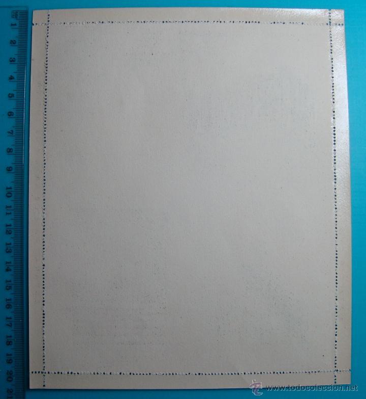 Postales: CARTA SOBRE PATRONATO NACIONAL DEL TURISMO ESPAÑA SERIE 11 ZARAGOZA, CIRCA 1930, NUEVA SIN CIRCULAR - Foto 2 - 39453344