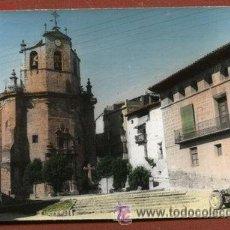 Cartes Postales: FUENTESPALDA, TERUEL. VISTA PARCIAL (CON TRACTOR EN LA PLAZA). Lote 39503704
