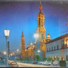 Postales: (10986)POSTAL SIN CIRCULAR,TEMPLO DE EL PILAR,ZARAGOZA,ZARAGOZA,ARAGON,CONSERVACION:. Lote 39646846
