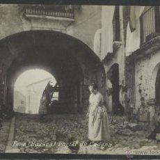 Postales: FONZ - PORTAL DE CODERA - FABRICACION ESPAÑOLA - (17857). Lote 39881497