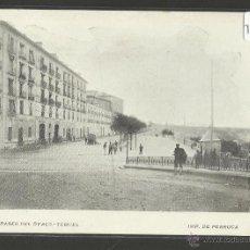 Postales: TERUEL - PASEO DEL OVALO - IMP PERRUCA - (17862). Lote 39881600