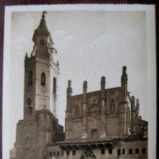 Postales: ANTIGUO POSTAL DE HUESCA - CATEDRAL - ED. L . ROISIN - NO CIRCULADA.. Lote 39585261