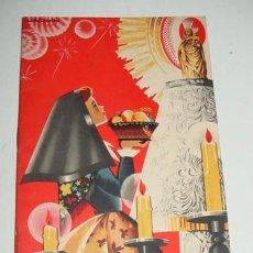 Postkarten - ANTIGUO PROGAMA DE FIESTAS DEL PILAR DE ZARAGOZA - OCTUBRE 1957, HONOR DE NTRA. SRA. DEL PILAR - MID - 39589995