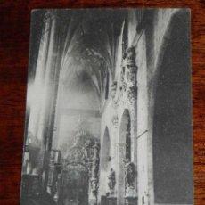 Postales: ANTIGUA POSTAL - HUESCA - BARBASTRO - CATEDRAL ALTAR DE SAN CARLOS - CLICHES M. ARRIBAS - SIN CIRCUL. Lote 39591384
