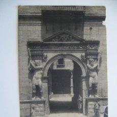 Postales: POSTAL ZARAGOZA. PORTADA DE LA AUDIENCIA TERRITORIAL. FOT. THOMAS. SIN CIRCULAR. Nº 69.. Lote 40519321