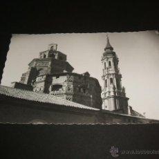 Postales: ZARAGOZA CATEDRAL DE LA SEO TORRE Y CIMBORRIO. Lote 40634858