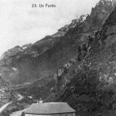 Cartes Postales: ESPLENDIDA POSTAL DE CANFRANC - AÑOS 10 - EL FORTIN. Lote 40757099