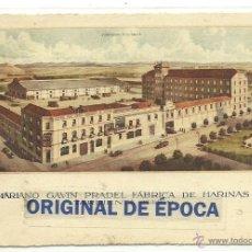 Postales: (PS-38293)POSTAL DE TARDIENTA-MARIANO GAVIN PRADEL FABRICA DE HARINAS. Lote 40948135