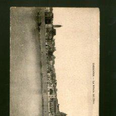Postales: ZARAGOZA LA RIBERA DEL EBRO - EDICIÓN ARRIBAS - POSTAL PANORÁMICA DOBLE . Lote 41119818