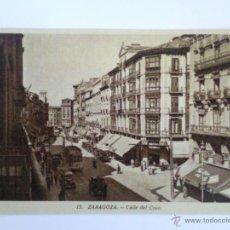 Postales: POSTAL ZARAGOZA, CALLE DEL COSO. Lote 42864687