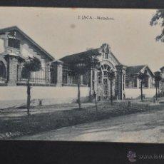 Postales: ANTIGUA POSTAL DE JACA. HUESCA. MATADERO. ED. HERAS. SIN CIRCULAR. Lote 41255465