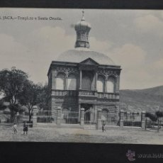 Postales: ANTIGUA POSTAL DE JACA. HUESCA. TEMPLETE A SANTA OROSIA. SIN CIRCULAR. Lote 41255708