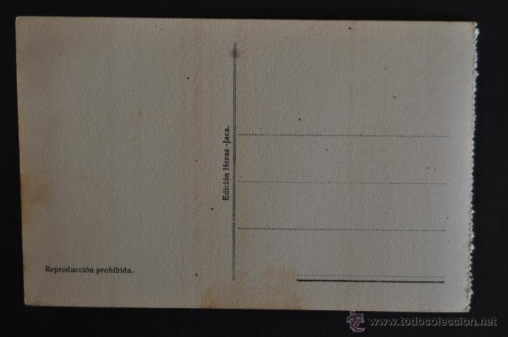 Postales: ANTIGUA POSTAL DE JACA. HUESCA. TEMPLETE A SANTA OROSIA. SIN CIRCULAR - Foto 2 - 41255708