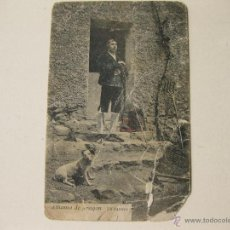 Postales: POSTAL ANTIGUA DE UN BATURRO - ALHAMA DE ARAGON - ZARAGOZA. Lote 41256585