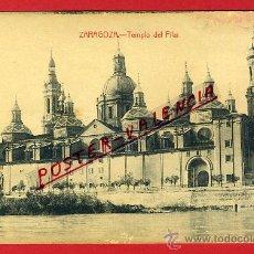 Postales: POSTAL ZARAGOZA, TEMPLO DEL PILAR, P91812. Lote 41302877