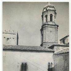 Postales: LA IGLESUELA DEL CID Nº 6 .-FACHADA AYUNTAMIENTO Y TORRE DE LA IGLESIA .-EDICION JDP. Lote 41444956
