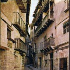 Postales: POSTAL ALBARRACÍN - CALLE DEL PORTAL DE MOLINA - TERUEL. Lote 41559189