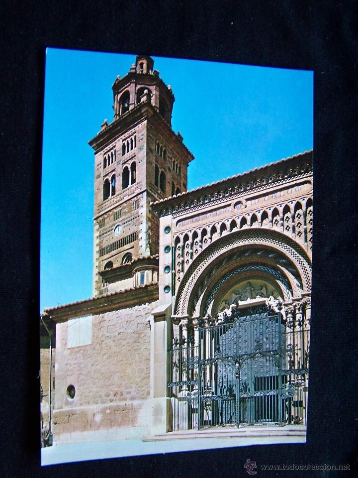 POSTAL SIN CIRCULAR ED SICILIA-ZARAGOZA SERIE Nº 26 CATEDRAL-ENTRADA PRINCIPAL TERUEL (Postales - España - Aragón Moderna (desde 1.940))