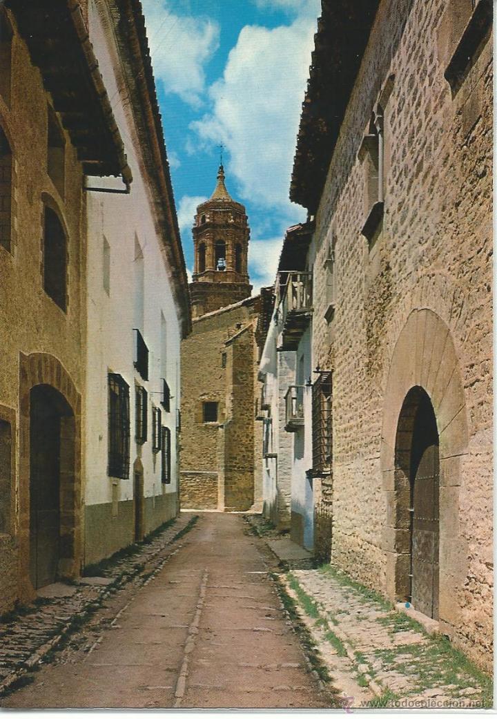 LA IGLESUELA DEL CID.-CALLE ONDEVILLA.-EDICION JDP Nº 2.-EXCLUSIVA IZQUIERDO (Postales - España - Aragón Moderna (desde 1.940))