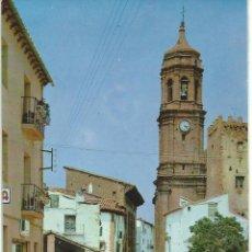 Postales: IGLESUELA DEL CID.-CALLE SAN PABLO.-EXCLUSIVAS BAZAR CENTELLES.-CASA DE LOS JAMONES Nº 1. Lote 41791601