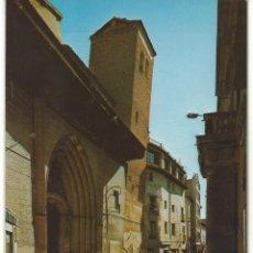 Postales: CALATAYUD.-CALLE DATO Y SAN PEDRO DE LOS FRANCOS CON SU TORRE INCLINADA.-EDICIONES SICILIA. Lote 41805097