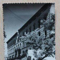 Postales: POSTAL DE ALHAMA DE ARAGON. GRAN HOTEL TERMAS PALLARES. VER SELLOS EN REVERSO. CIRCULADA.. Lote 41991100