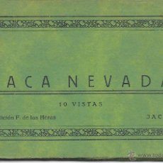 Postales: PS3830 JACA NEVADA - ALBUM DESPLEGABLE - 10 VISTAS - F. DE LAS HERAS. Lote 42105198