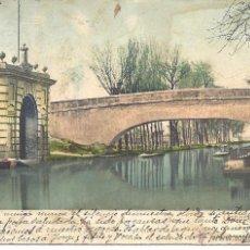 Postales: PS3967 ZARAGOZA 'CANAL IMPERIAL'. CIRCULADA EN 1903. Lote 42326031