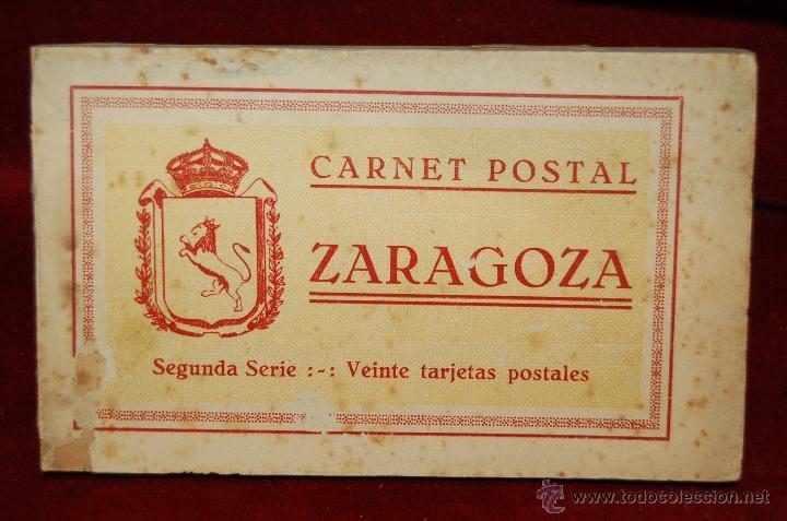 ALBUM DE POSTALES DE ZARAGOZA. 2ª SERIE. 20 TARJETAS (Postales - España - Aragón Antigua (hasta 1939))