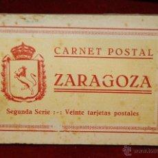 Postales: ALBUM DE POSTALES DE ZARAGOZA. 2ª SERIE. 20 TARJETAS. Lote 42397686