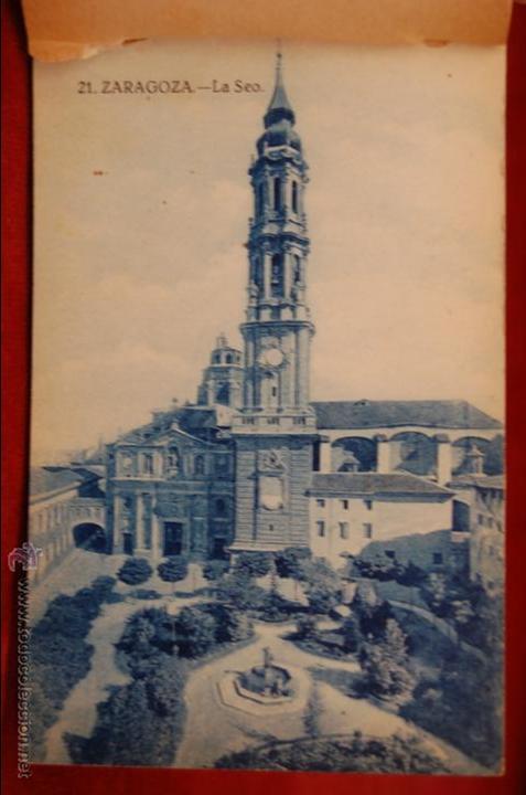Postales: ALBUM DE POSTALES DE ZARAGOZA. 2ª SERIE. 20 TARJETAS - Foto 2 - 42397686