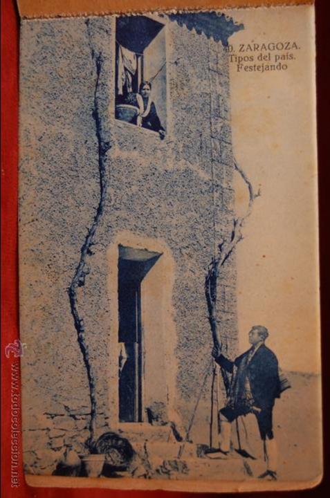 Postales: ALBUM DE POSTALES DE ZARAGOZA. 2ª SERIE. 20 TARJETAS - Foto 3 - 42397686