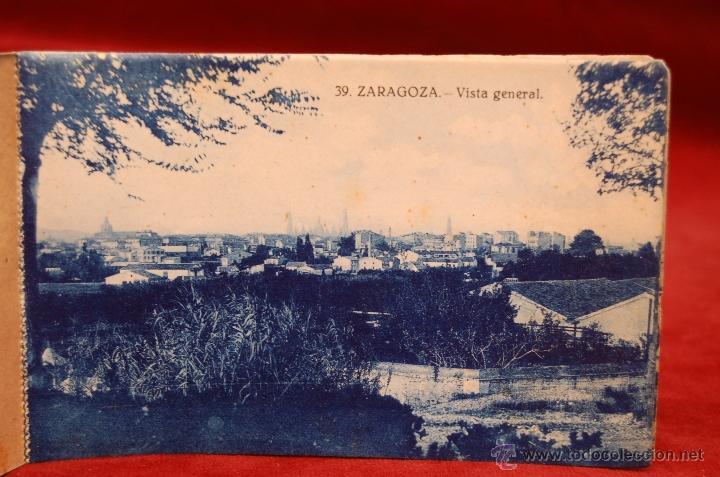 Postales: ALBUM DE POSTALES DE ZARAGOZA. 2ª SERIE. 20 TARJETAS - Foto 5 - 42397686