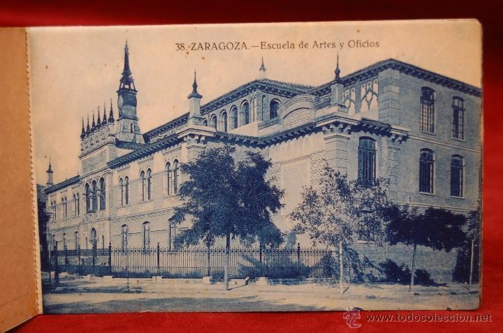 Postales: ALBUM DE POSTALES DE ZARAGOZA. 2ª SERIE. 20 TARJETAS - Foto 6 - 42397686
