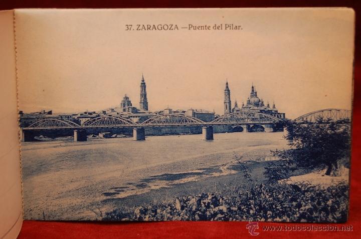 Postales: ALBUM DE POSTALES DE ZARAGOZA. 2ª SERIE. 20 TARJETAS - Foto 7 - 42397686