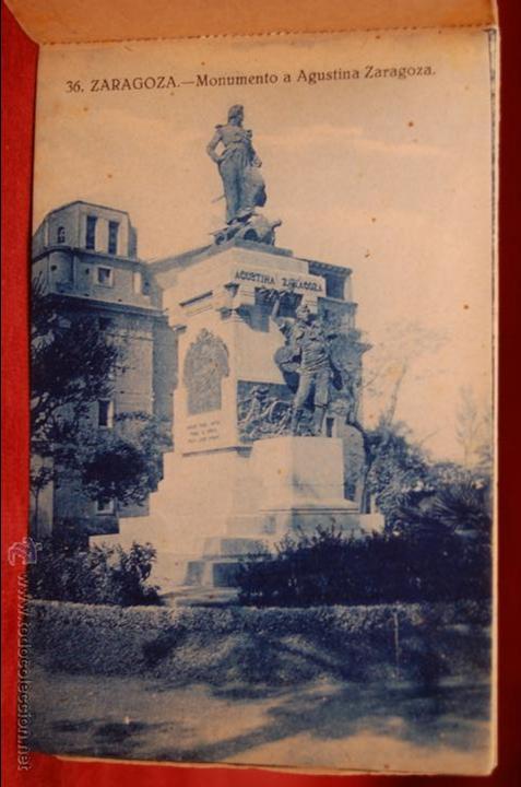 Postales: ALBUM DE POSTALES DE ZARAGOZA. 2ª SERIE. 20 TARJETAS - Foto 8 - 42397686